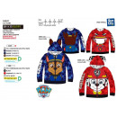wholesale Fashion & Apparel: Paw Patrol -  zipped hood  sweatshirt 100% ...