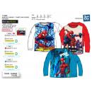 Spiderman - T-Shirt manica lunga stampa completo 1
