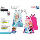 frozen - dress s / m back fancy 100% cot
