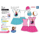 frozen -ensemble T-Shirt Short Cuff & Skirt