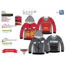 Großhandel Fashion & Accessoires: Cars 3 -  Reißverschluss Hoody 100% Polyester