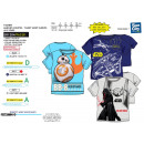 Star Wars VII - T-Shirt Kinderbett kurze Ärmel 100