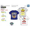 Paw Patrol - T-Shirt de manga corta 100% algodón