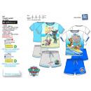 Paw Patrol - T-Shirt Set dbl sleeves & shorts