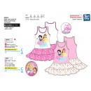 Großhandel Röcke: Princess - Kleid s  / m Rock Rüschen 100% Coto