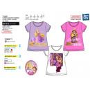 hurtownia Produkty licencyjne: Princess - T-Shirt z krótkim rękawem z gatherów