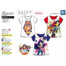 DC GIRLS Superhéroe - T-Shirt de manga corta 10