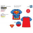 Superman - T-Shirt a manica corta con mantello 100