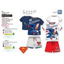 Superman -set T-Shirt dbl Ärmeln und Shorts 100