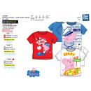 Großhandel Fashion & Accessoires: Peppa Pig -  T-Shirt kurze Ärmel voller Druck 1