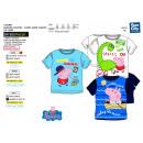 Großhandel Fashion & Accessoires: Peppa Pig -  T-Shirt kurze Ärmel 100% Baumwolle