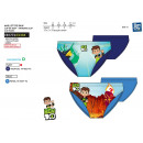 BEN 10 - sublimated bathing brief 85% polyester /