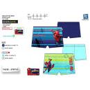 grossiste Vetement et accessoires: SPIDERMAN - boxer bain sublime dev 85% polyester /