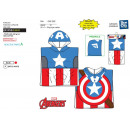 wholesale Swimwear: Avengers CLASSIC - bath cap hood 100% coton