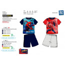 Spiderman - pyjacourt T-Shirt & sh 100% cotone