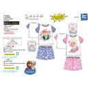 frozen - pyjacourt T-Shirt & sh stampe 100% co