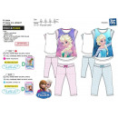 wholesale Sleepwear: frozen - pajama 3/4 high prints 100% cotton