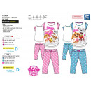 wholesale Sleepwear: Paw Patrol - pajamas 3/4 high prints 100% cotton
