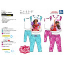 ELENA OF AVALOR - pyjama 3 / 4 haut imprime 100% c
