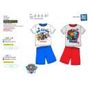 Großhandel Lizenzartikel: Paw Patrol - pyjacourt T-Shirt & sh 100% Baumw