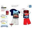 Cars 3 - pyjacourt T-Shirt & sh 100% coton