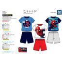 Spiderman - pyjacourt T-Shirt & sh 100% cotone