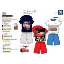 Cars - pyjacourt T-Shirt & sh 100% algodón