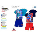 wholesale Sleepwear: MESSI - pyjacourt T-Shirt & sh 100% polyester