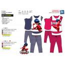 Lady Bug - pijamas 3/4 alta de impresión 100% de a