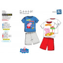 Peppa Pig - pyjacourt T-Shirt & sh 100% coton
