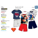 Superman - pyjacourt T-Shirt & sh 100% cotone