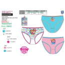 Paw Patrol - kit of 3 panties 100% coto