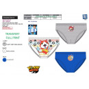 wholesale Underwear: YOKAI WATCH - box of 3 briefs 100% coton