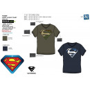 wholesale Licensed Products: Superman - Short Cuff T-Shirt 100% coton