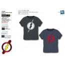 DC COMICS - 100% katoen T-Shirt korte manchet