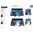 Großhandel Kleider: Avengers CLASSIC -  Boxer pes 89% 11% ela