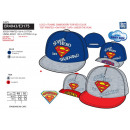 Superman - Jersey cap embroidered 100% cot