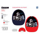 Star Wars VII - sublimiert Kappe 100% Polyester
