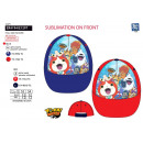 YOKAI WATCH - casquette sublimee 100% polyester