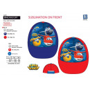 SUPER WINGS - casquette sublimee 100% polyester