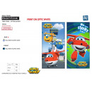 SUPER WINGS - serviette de plage cotton majo