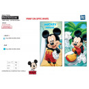 MICKEY - serviette de plage cotton majo