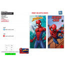 SPIDERMAN - serviette de plage 100% polyester