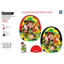 BEN 10 - sublimated cap 100% polyester / 100%