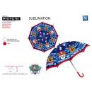 Großhandel Taschen & Reiseartikel: Paw Patrol -  umbrella d: 69 100% Polyester