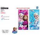 frozen - 100% polyester beach towel