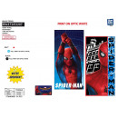 SPIDER MOVIE - beach towel 100% polyester