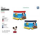 Mickey - erhabener Badeboxer dev 85% Polyester / 1