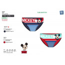 Mickey - erhabene Badehose 85% Polyester / 15% ela