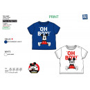 Mickey - T-Shirt 100% short cuff coton